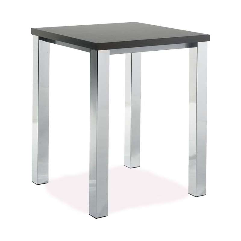 Table De Cuisine Carree Mange Debout En Stratifie Quadra 4