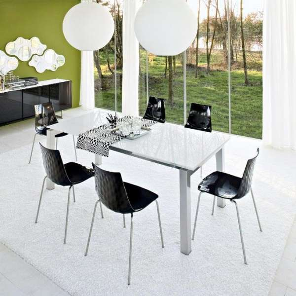 Table en verre design Airport Calligaris® - 2