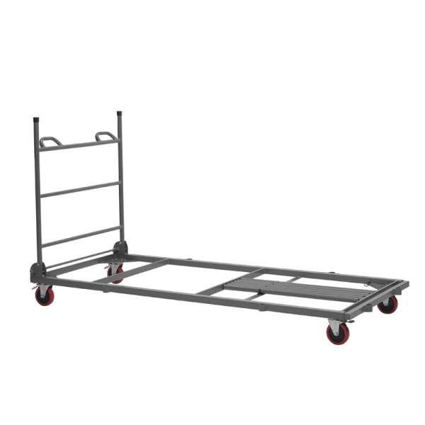 Chariot de stockage et de transport pour table pliante - 2