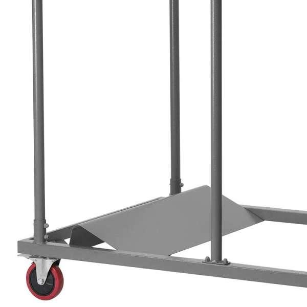 Chariot pour table pliante ronde - 3