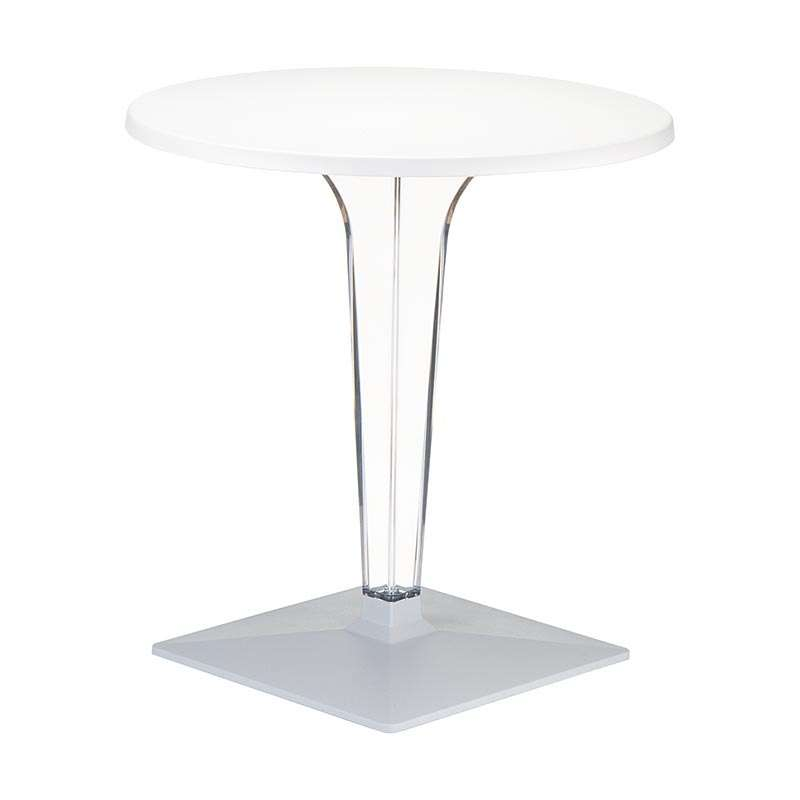 Table Design Ronde Blanche   Ice 2   2 ...