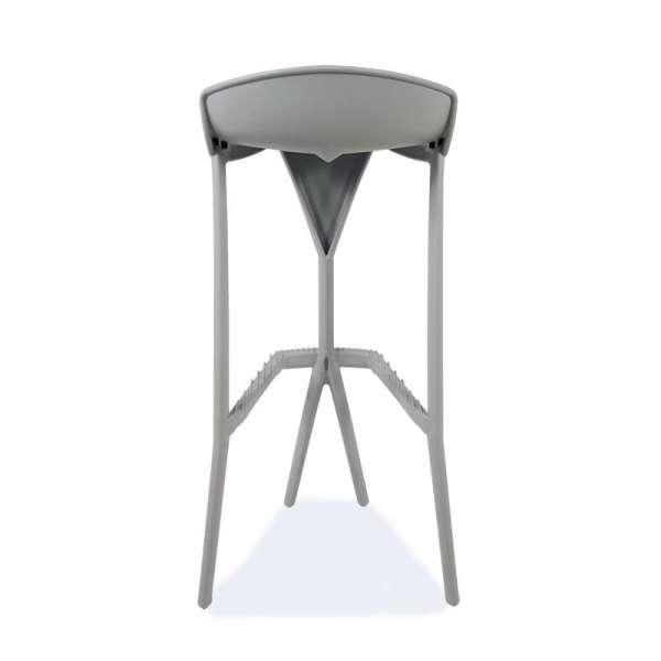 Tabouret design gris - Shiver - 14