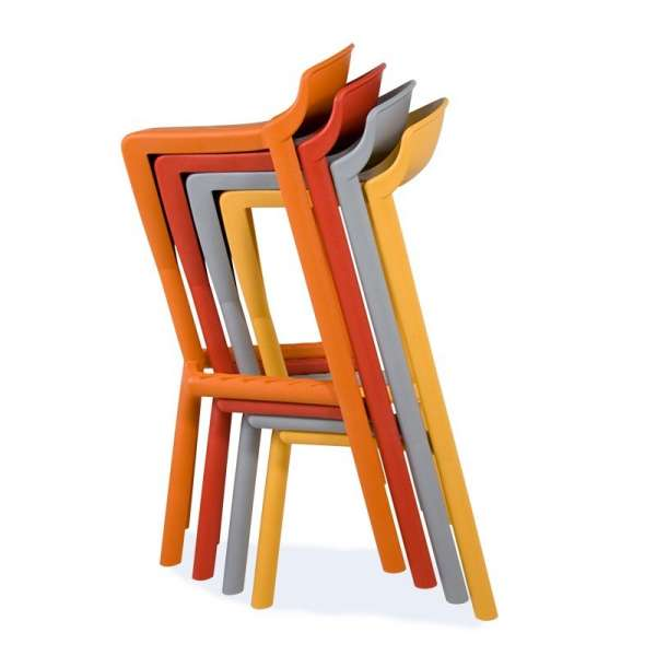 Tabouret design empilable - Shiver - 31