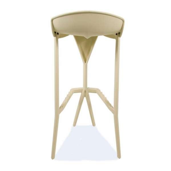 Tabouret design beige - Shiver - 30