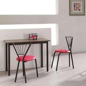 Chaise de cuisine moderne en métal - Sandra