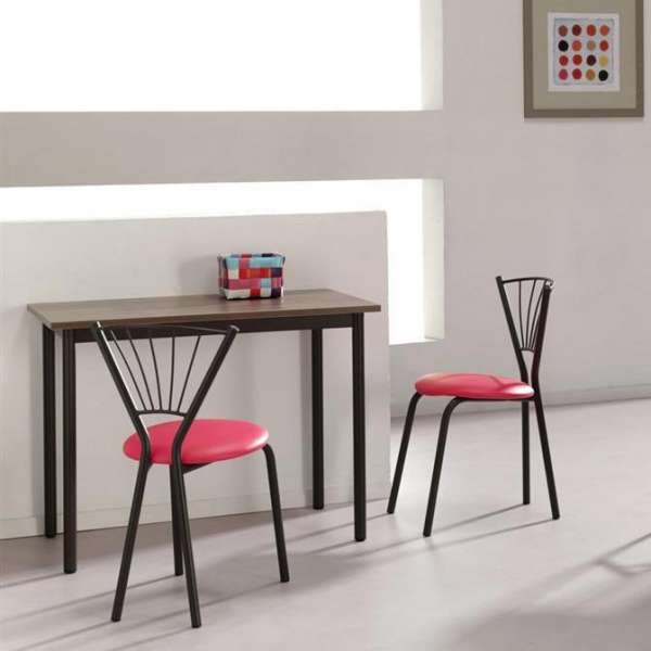 Chaise de cuisine moderne en métal - Sandra - 1