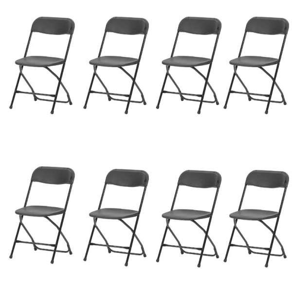 Chaises pliante de collectivité Alex - 12