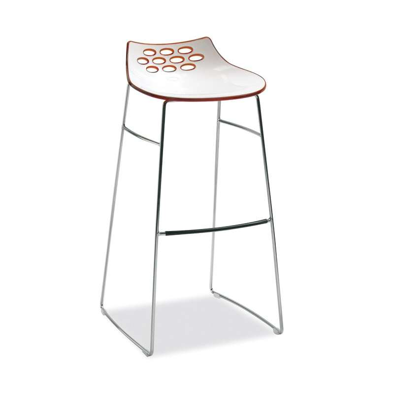 chaise de bar en plexiglas