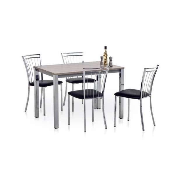 Chaise de cuisine en métal et synthétique - Viva 10 - 10